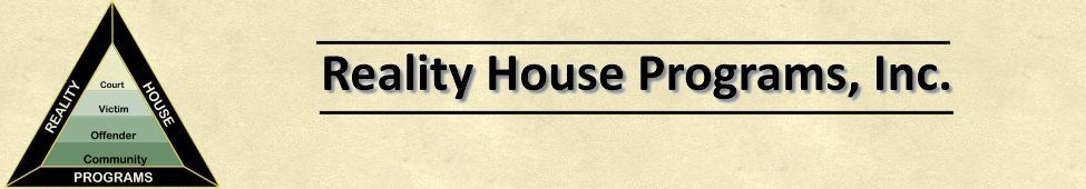 Reality House Programs Inc Clinical Services Department